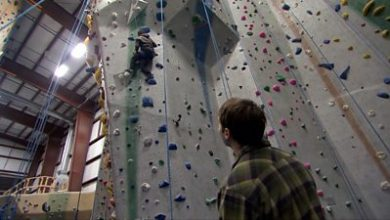 Photo of Rock climbing when you're blind