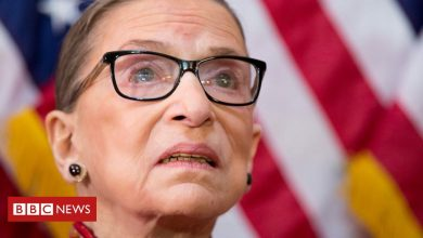 Photo of Ruth Bader Ginsburg in pictures and her own words