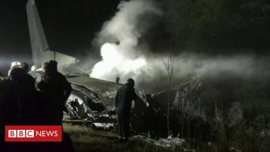 Photo of Ukraine military plane crash: Cadets among at least 22 people killed