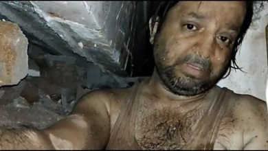 Photo of Mumbai collapse: The man who filmed his ordeal under rubble