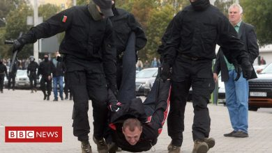 Photo of Belarus: Mass arrests and tear gas on seventh weekend of protests