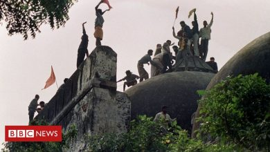 Photo of Babri mosque: India court acquits BJP leaders in demolition case