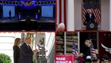 Photo of Trump Covid: The US president's seven days before his positive test result