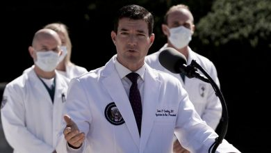 Photo of Dr Sean Conley: Who is Donald Trump's physician?