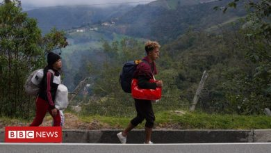 Photo of Venezuelans brave 'brutal' migrant route made tougher by pandemic