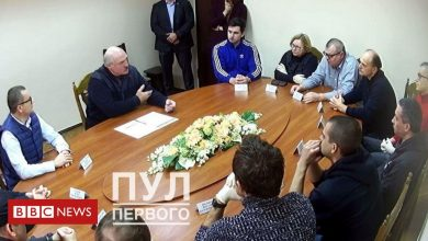 Photo of Belarus protests: Lukashenko holds meeting with opponents in jail
