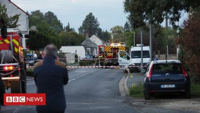 Photo of France plane crash: Five killed after mid-air collision near Tours