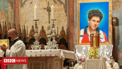Photo of Carlo Acutis: Italian teenager could be first millennial saint