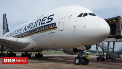 Photo of Singapore Airlines sells out meals on parked plane