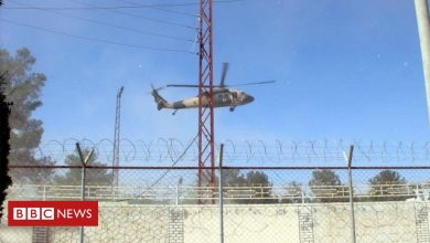 Photo of Afghan-Taliban conflict: Helicopters carrying wounded troops collide