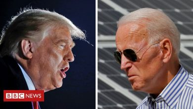 Photo of US election: Trump and Biden compete with separate Q&A events