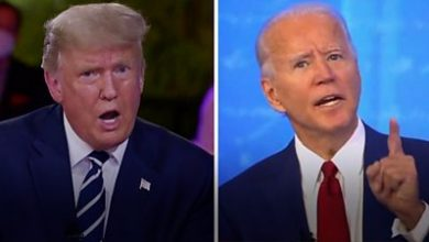 Photo of US election 2020: Trump and Biden face voters' questions