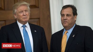 Photo of Covid: Chris Christie 'was wrong' to not wear masks