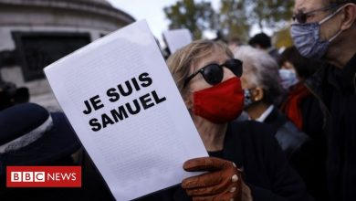 Photo of France teacher attack: Rallies held to support beheaded Samuel Paty