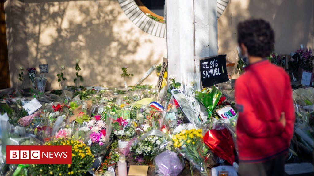 france-teacher-attack:-police-raid-homes-of-suspected-islamic-radicals