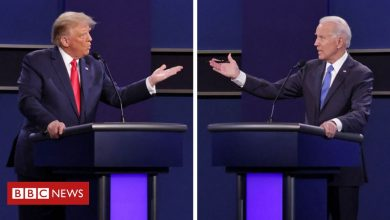 Photo of Presidential debate: Second Trump v Biden debate in pictures