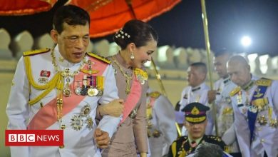 Photo of Thai king in rare praise for pro-monarchists