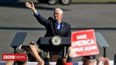 Photo of US election 2020: Pence stays campaigning despite aide's Covid diagnosis
