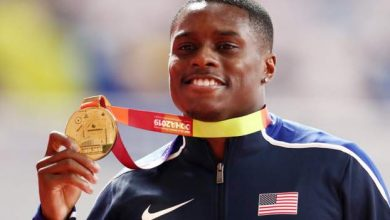 Photo of Christian Coleman banned for two years for missing drugs test