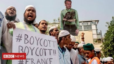 Photo of Huge Bangladesh rally calls for boycott of French products