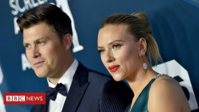 Photo of Scarlett Johansson marries Colin Jost in 'intimate' ceremony