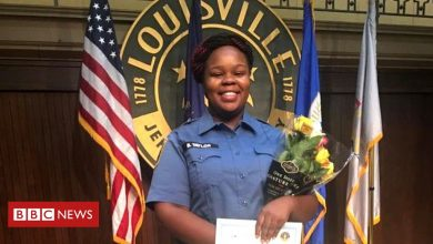 Photo of Breonna Taylor: Police officer sues shot black woman's boyfriend