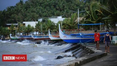Photo of Typhoon Goni: Philippines hit by year's most powerful storm