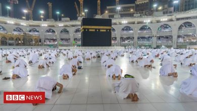 Photo of In pictures: Foreign Muslims return to Mecca for Umrah pilgrimage