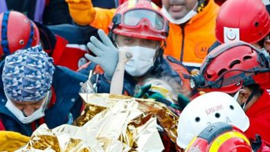 Photo of Turkey earthquake: Girl, three, pulled alive from rubble