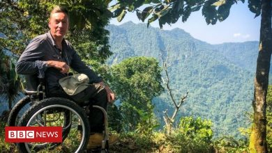 Photo of Frank Gardner: Getting Frank on the 'iceberg' of disability