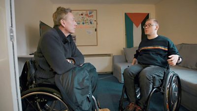 frank-gardner-meets-paralysed-student-after-diving-accident