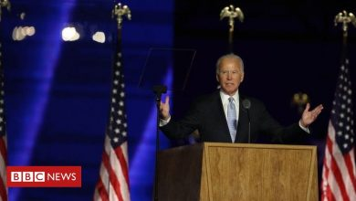 Photo of US election: Joe Biden vows to 'unify' country in victory speech