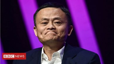 Photo of Jack Ma's terrible week