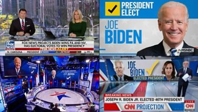 Photo of US election 2020: How US networks reported the Biden win
