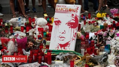 Photo of Barcelona terror attack suspects face trial