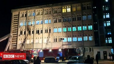 Photo of Covid: Romania hospital blaze kills at least 10 infected patients