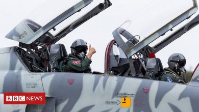 Photo of Taiwan air force chief joins F-5 test flight after fatal crash