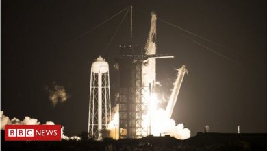 Photo of Nasa SpaceX launch: Astronaut crew heads to orbit