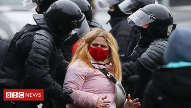 Photo of Belarus: 'Over 1,000 arrested' at latest anti-government protest