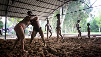 Photo of Coronavirus: India's wrestling pits turn into gyms in pandemic