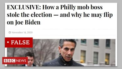 Photo of The local news site behind fake Biden 'mafia plot'