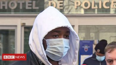 Photo of Paris police officers suspended over beating of black music producer