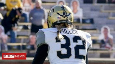 Photo of American football: Sarah Fuller makes history as first woman in a Power 5 game