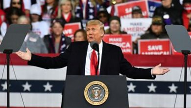 Photo of Trump holds rally for Georgia Senate races, repeats election fraud claims