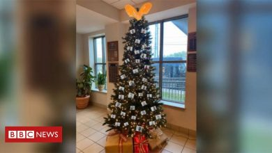 Photo of Alabama sheriff's 'thugshot' Christmas tree draws complaints