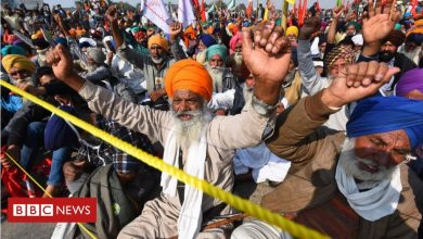 Photo of Bharat bandh: India farmers protest against law
