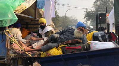 india-farmers-protests:-'delhi-highways-are-our-home-for-now'