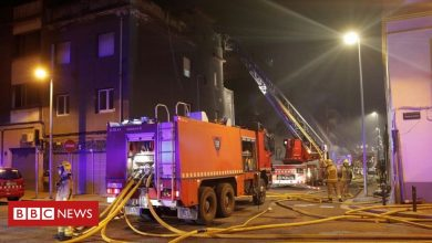 Photo of Deadly fire engulfs Barcelona squatters' warehouse