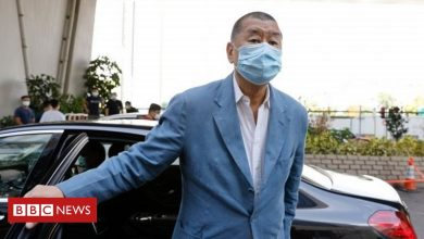 Photo of Hong Kong pro-democracy tycoon Jimmy Lai charged under security law