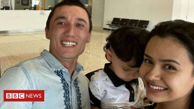 Photo of Freed Uighur family reunited in Australia after three-year separation